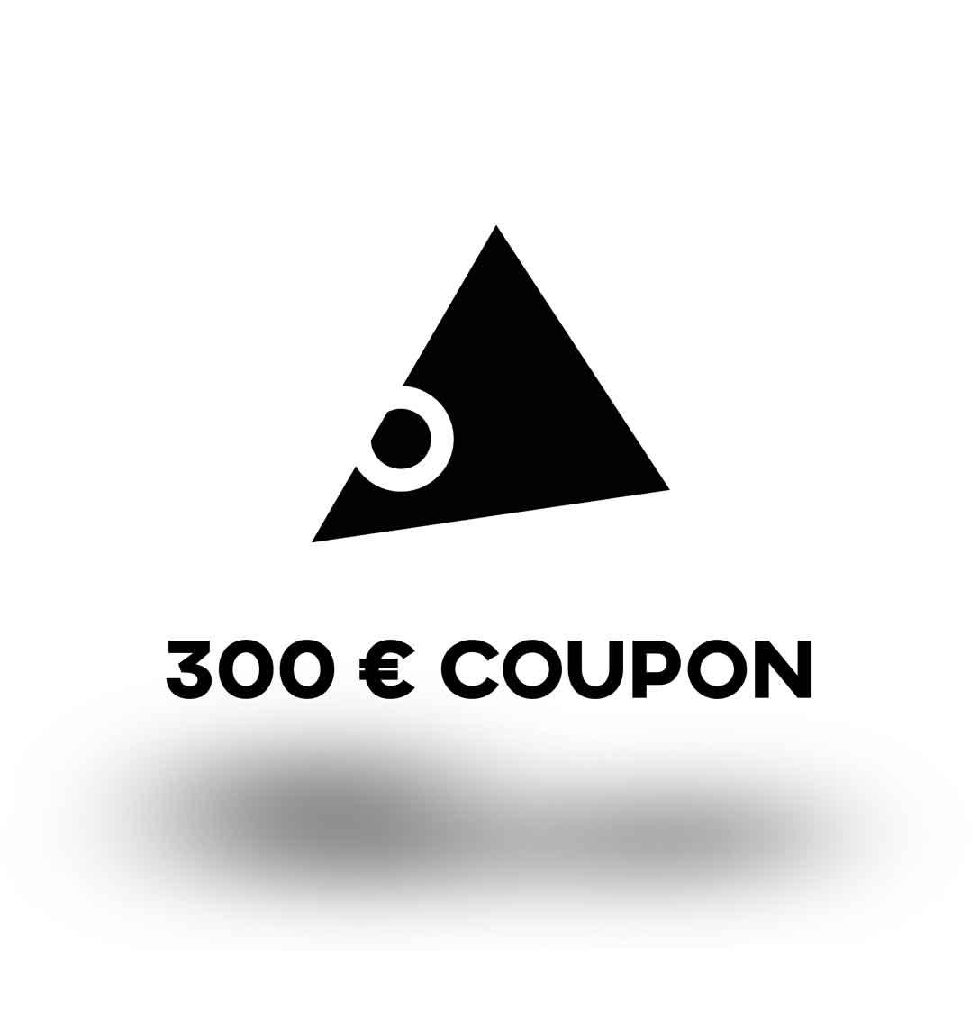 300€ Gutschein