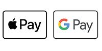Apple Pay / Google Pay (via Stripe)